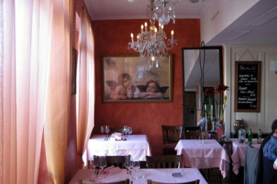Innenbereich Fenster Restaurant
